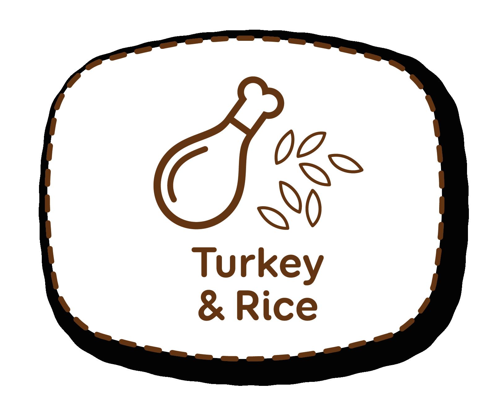 Pavo y arroz: ingredientes muy apetitosos y adecuados para el mantenimiento del peso ideal