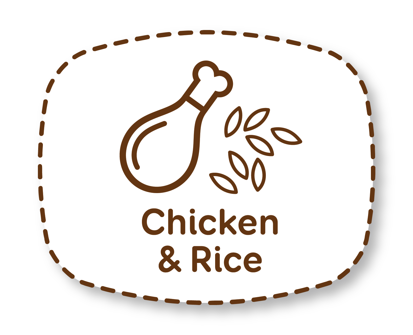 Pollo y arroz: nutrientes equilibrados para el mantenimiento de perros adultos