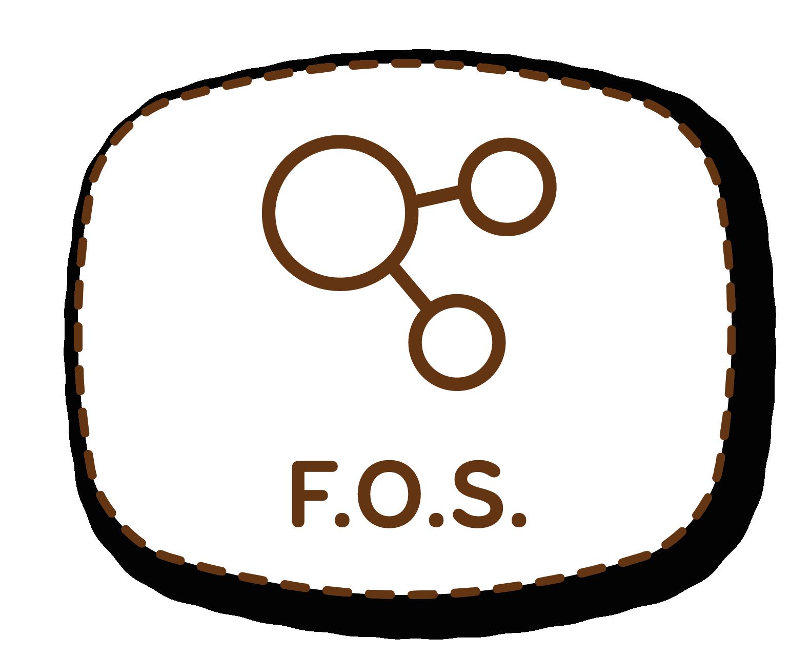 F.O.S.: fructooligosacáridos que aumentan la salud del tracto gastrointestinal