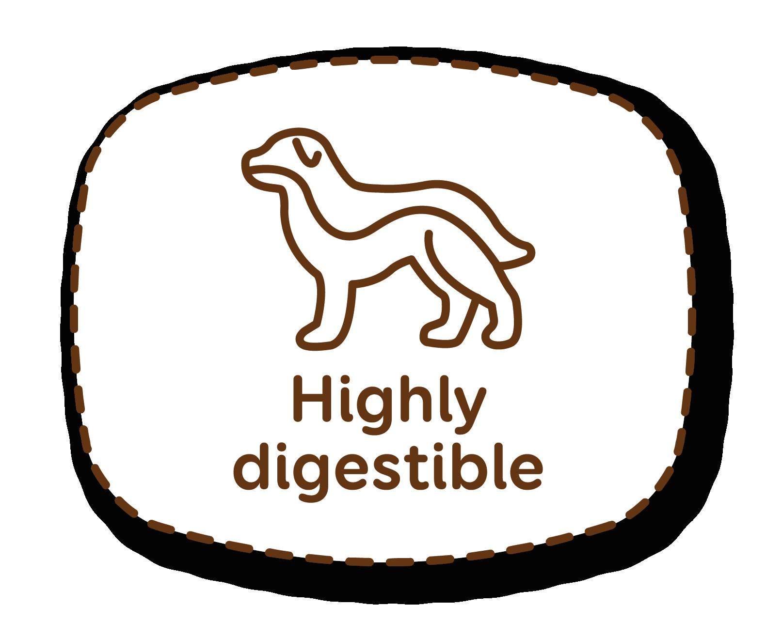 Alta digestibilidad