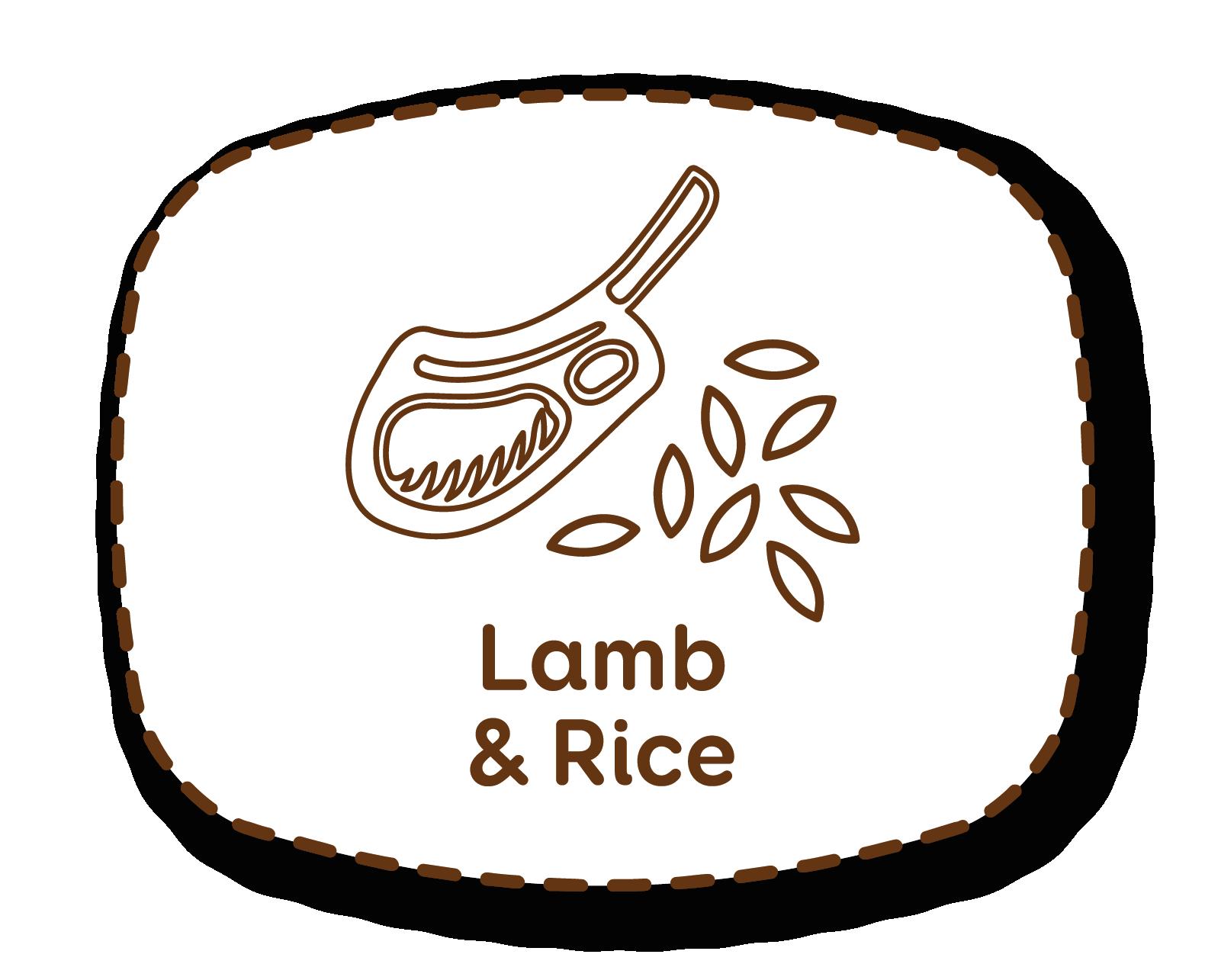Cordero y arroz: para una dieta equilibrada y altamente palatable