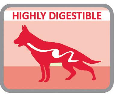 Muy digestible por su selección de materias primas
